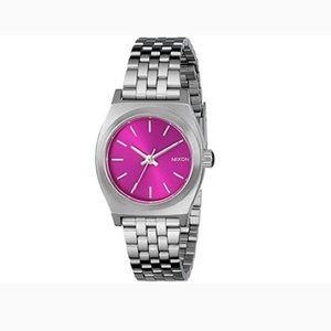Nixon Watch Small Time Teller Pink Sunray B4BC